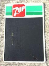 Vintage 7up Chalkboard  Signboard