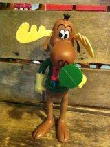 Bullwinkle Dakin Figure ビンテージ ロッキー&ブルウィンクル カートゥーン ダーキン フィギュア ドール トイ toy おもちゃ ヴィンテージ 70年代