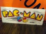 PAC-MAN Game Machine Signboard