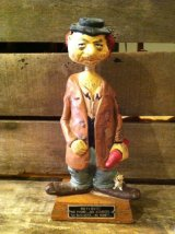 Bobble Head Drunk Hobo Nodder Figure