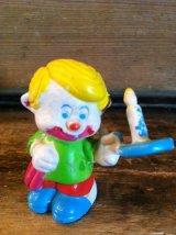 CLOWN AROUND PVC FIGURE ビンテージ クラウンアラウンド ピエロ PVC フィギュア 80年代 トイ toy おもちゃ ヴィンテージ vintage