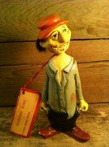 Bobble Head Hobo Nodder Figure