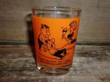 funny comic cartoon bowling shot glasse