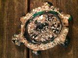 Lucite Turtle Ornament