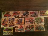 WEIRD WHEELS Monster Hot Rod Art Card 55 Complete Set