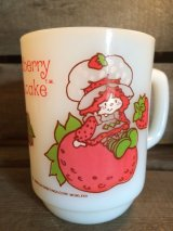 Strawberry Shortcake Fire King Mug