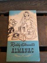 Reddy Kilowatt's Almanac ビンテージ レディキロワット 年鑑 ブック アドバタイジング 企業キャラクター 企業物 アメリカ雑貨 ヴィンテージ 60年代