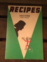 Reddy Kilowatt Recipes Book ビンテージ レディキロワット ブック アドバタイジング 企業キャラクター 企業物 アメリカ雑貨 ヴィンテージ 60年代
