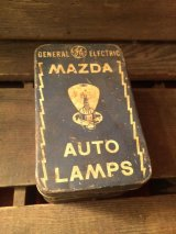 General Electric Lamps Metal Tin Can