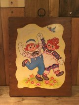Raggedy Ann & Andy Wall Deco