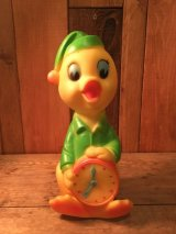 Sleepy Time Duck Rubber Squeaky Toy