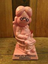"""""""WORLD'S GREATEST GRANDMA""""Message Doll ビンテージ カラー メッセージドール 70年代 ヴィンテージ"""