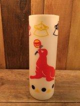 Vintage  Plastic Cup ビンテージ サーカス オットセイ プラスチック製 コップ 70年代 ヴィンテージ