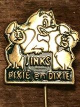 Pixie and Dixie Hat Pin ビンテージ ハンナバーベラ チュースケとチュータ ハットピン 60年代頃 ヴィンテージ