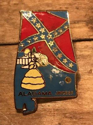 70年代頃のスーベニア(お土産)メタル製ビンテージピンズ