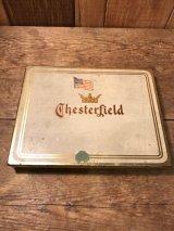 Chester Field Tobacco Can ビンテージ チェスターフィールド タバコ ケース Tin製 50年代頃 ヴィンテージ