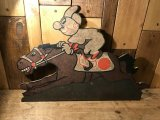 Reddy Kilowatt Wall Sign レディキロワット ビンテージ アドバタイジング 企業キャラクター 壁掛け 看板 50年代 ヴィンテージ vintage