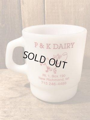 企業物のギャラクシー社のビンテージマグカップ