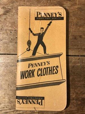 50年代頃のぺニーズのビンテージタイムブック