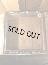 Sunshine Biscuts Display Case 店頭用 ディスプレイケース ビンテージ 企業 アドバタイジング 30年代 ヴィンテージ vintage