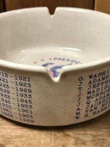 他の写真2: Presidents Of The U.S.A. Ashtray 大統領 ビンテージ アシュトレイ 60年代 灰皿 陶器 ヴィンテージ vintage