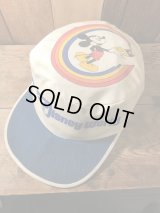 Disney World Mickey Mouse Work Cap ミッキーマウス キャップ ディズニーワールド 70年代 帽子 ヴィンテージ vintage