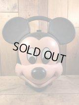Disney Mickey Mouse Head Lunch box ミッキーマウス ビンテージ ランチボックス ディズニー 70年代