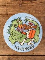 Rocky & Bullwinkle Cartoon Cereal Premium Iron On Patch Sticker ロッキー&ブルウィンクル ビンテージ アイロンパッチステッカー カートゥーン シリアル おまけ 70年代