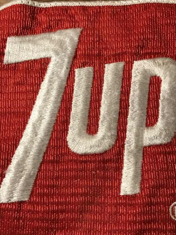 7up Patch セブンアップ ビンテージ ワッペン 60年代 パッチ 刺繍 ドリンク ヴィンテージ vintage