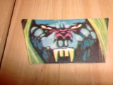 1970's LGLY STICKERS MONSTER