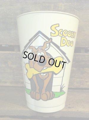 ハンナバーベラキャラクターのスクービードゥーのビンテージプラスチックカップ