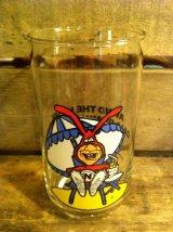 DOMINO's PIZZA NOID Glass ビンテージ ドミノピザ ノイド グラス タンブラー コップ ファーストフード アドバタイジング 企業キャラクター 企業物 アメリカ雑貨 ヴィンテージ 80年代 vintage