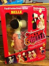 Snoopy Fun&Fashion Dress Up Doll ビンテージ スヌーピー ピーナッツ ドール フィギュア ニッカボッカー 着せ替え トイ toy おもちゃ ヴィンテージ 80年代