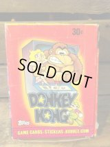 DONKEY KONG STICKERS CARD SET