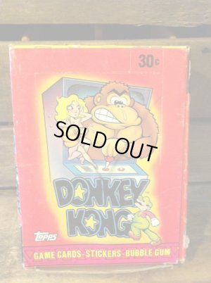 画像1: DONKEY KONG STICKERS CARD SET