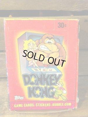 画像1: DONKEY KONG STICKERS CARD SET