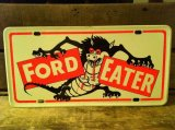 Monster License Plate