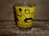 funny comic cartoon bowling shot glasse