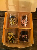 Vintage Shot Glasse Dead Stock Set