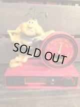Raid Bug Radio  ビンテージ レイドバグ 時計 置き時計 フィギュア アドバタイジング 企業キャラクター 企業物 トイ toy ヴィンテージ 80年代