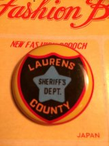LAURENS COUNTY SHERIFF'S DEPT. Badge