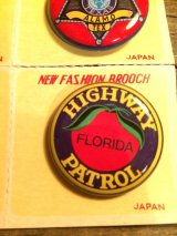 HIGHWAY FLORIDA PATROL Badge