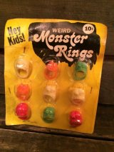 Weird Monster Rings