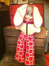 Bugs Bunny Doll ビンテージ バッグスバニー ルーニーテューンズ ワーナー カートゥーン ドール フィギュア トイ toy おもちゃ ヴィンテージ 60年代