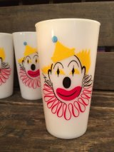 Clown Milk  Glass
