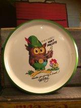 Woodsy Owl Tray  ビンテージ ウッディーオウル トレー お盆 アドバタイジング 企業キャラクター 企業物 アメリカ雑貨 ヴィンテージ 70年代