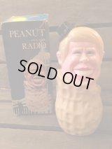 Jimmy Carter Peanut Radio  ビンテージ ジミーカーター ラジオ ピーナツ アドバタイジング 企業物 トイ toy おもちゃ ヴィンテージ 70年代