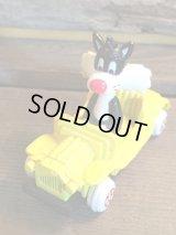 LOONEY TUNES MINI CAR ビンテージ ワーナー カートゥーン ルーニーテューンズ シルベスター ミニカー トイ toy おもちゃ ヴィンテージ 80年代