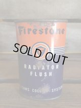 FIRESTONE RADIATOR FLUSH TIN CAN