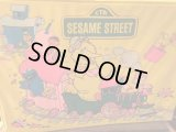 Sesame Street Vinyl Bag ビンテージ ジムヘンソン セサミストリート ビッグバード クッキーモンスター バート 鞄 バッグ アメリカ雑貨 ヴィンテージ 80年代